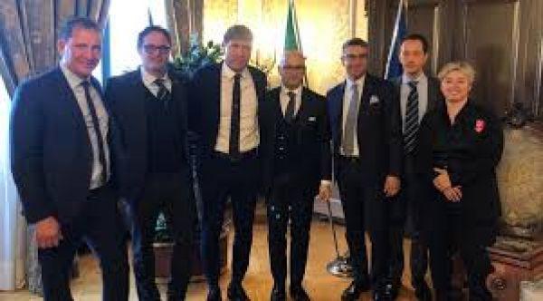 """Triestina, Tonucci & Partners con l'avv. Michele Grisafi nella riqualificazione dello stadio Ferrini-Centro Sportivo """"Mario Biasin"""""""
